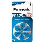 Panasonic 675 1.4V baterije za slušni aparat
