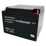 Multipower MP26-12C 12V 26Ah