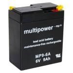 Multipower MP9-6A 6V / 9Ah