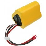 A123 9,9V / 2500mAh  D1x3 2,5 mm kabel