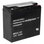 Multipower MP22-12C 12V 22Ah