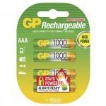 GP NiMH AAA 1.2V 1000 mAh polnilne baterije