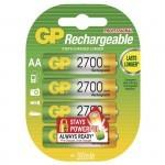 GP AA 1.2V 2700 mAh GP 270AAHC polnilne baterije