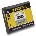 Baterija za Pentax D-Li88 Panasonic VW-VBX070 VW-VBX070E Sanyo DB-L80