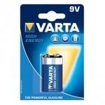 ALKALNA BAT VARTA 6LR61 HIGH ENERGY