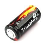 Trustfire 16340 880mAh 3,7V  PCB