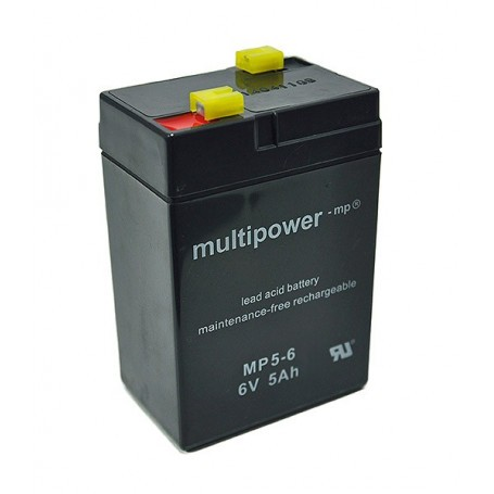 Multipower 6V 5Ah AGM