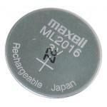 ML2016 Li-Mn Maxell 3V 25mAh polnilna gumb baterija