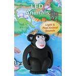 Ansmann LED živalice  - svetilka, obesek za ključe (OPICA)