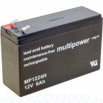 Multipower MP1224H 12V 6Ah