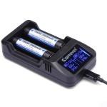 Keeppower L2 Li-Ion polnilnik LCD