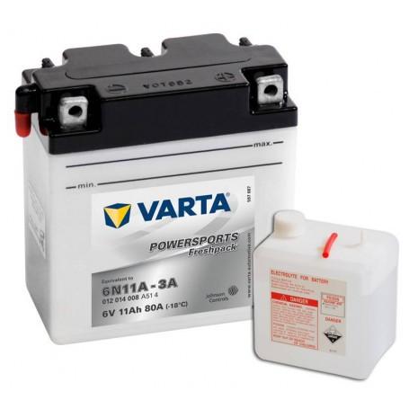 Varta 6N11A-3A 6V 12Ah 80A