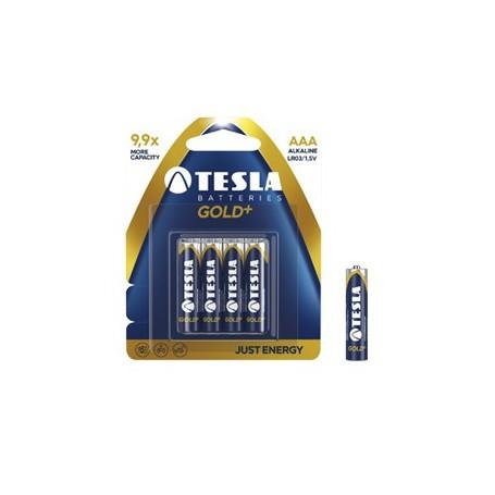 Tesla Gold + AAA Lr03 1.5V alkalne baterije