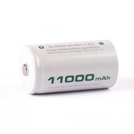 D LR20 11000 mAh NiMh 1.2V