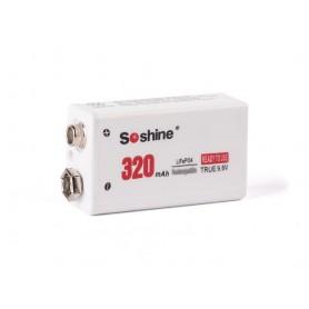 Soshine 9V LiFePO4 230mAh 9.6V baterija