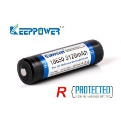 Keeppower R 18650 3120 mAh 3.7V Li-Ion PCM