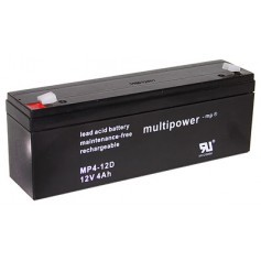 Multipower MP4-12D 12V 4Ah
