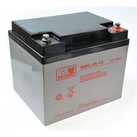 MW 12V 45Ah svinčen akumulator