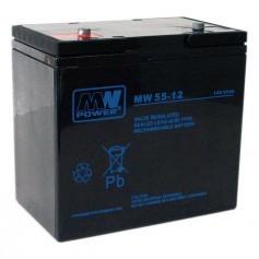 MW 12V 55Ah svinčen akumulator