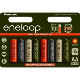 "eneloop AA 8-blister ""tones expedition"" serija 2000 mAh"