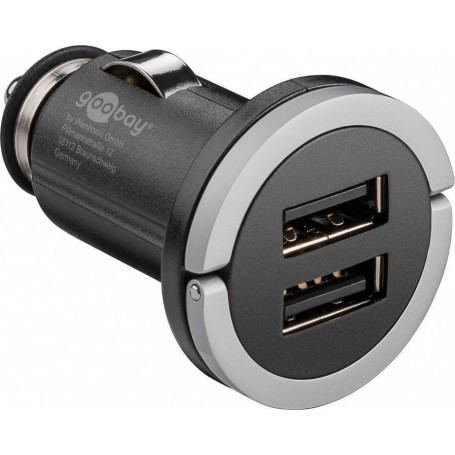 2x 12/24V USB 5V 2.1A avto polnilnik