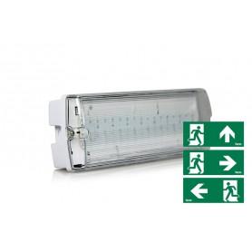 LED zasilna svetilka 4W IP65 195 lm