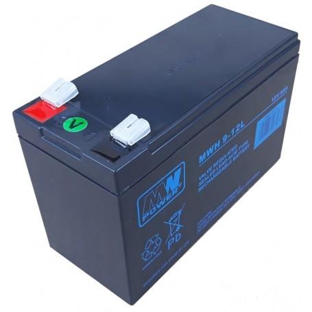 MW-Power MWH 12V 9Ah svinčen akumulator