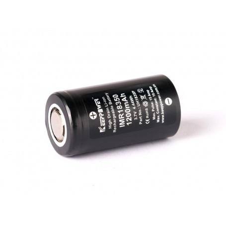 IMR18350 3.7V 1200 mAh 10A (15A) Keeppower