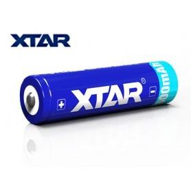 Xtar 18650 3.7V Li-Ion 2600 mAh s PCB zaščito