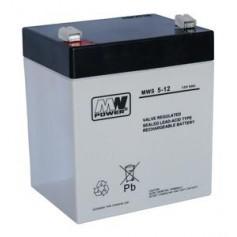 12V 5Ah AGM akumulator MWS 5-12