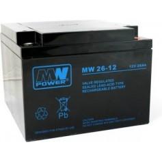 12V 26Ah AGM akumulator MW 26-12