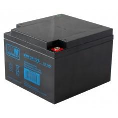 12V 26Ah AGM CIKLIČNI akumulator MWP 26-12B