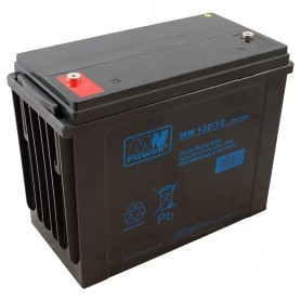 12V 130Ah AGM CIKLIČNI akumulator MWP 130-12