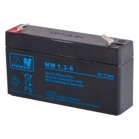 6V 1.3AH AGM akumulator MW 1,3-6