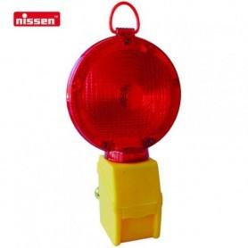 Opozorilna cestna svetilka Nissen MonoLight LED Rdeča