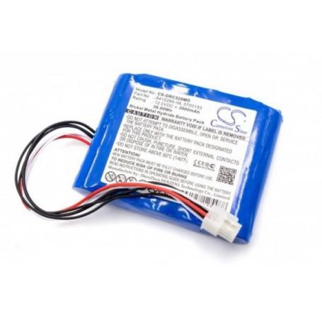 Baterija za Drager Carina NIV 12V 3000 mAh NiMh