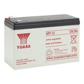 Yuasa NP7-12 12V 7Ah, 4.8mm faston
