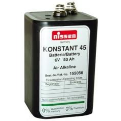 Nissen 6V 50Ah cink zračna baterija 4R25