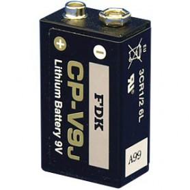 9V 1000 mAh Litijeva baterija Fujitsu