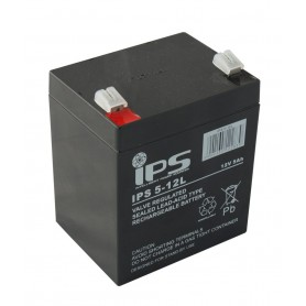 12V 5Ah AGM akumulator IPS 5-12L