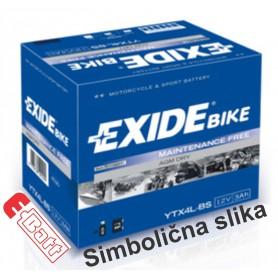 Exide YB4L-B 12V 4Ah moto akumulator
