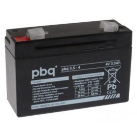 4V 3.5Ah AGM svinčen akumulator PBQ