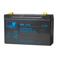 6V 12Ah AGM akumulator MW 12-6