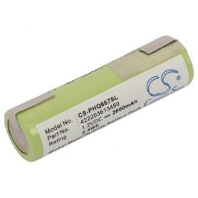 Baterija za Remington, 2000 mAh NiMh
