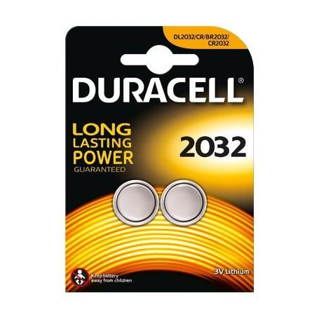 Duracell CR2032 3V/180 mAh 2-kos