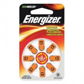 Energizer 13 baterije za slušni aparat (8 kosov)