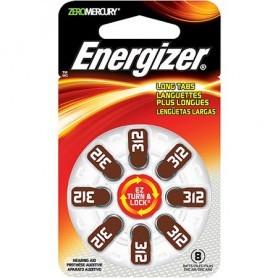 Energizer 312 baterije za slušni aparat (8 kosov)