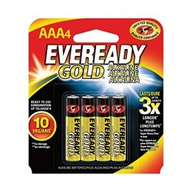 Energizer AAA LR03 Eveready Gold