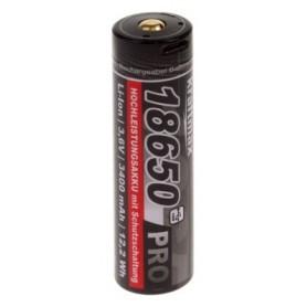 Kraftmax 18650 Pro Li-Ion z USB priklopom, 3400 mAh