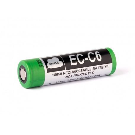 EC-C6 18650 3.7V 3000 mAh baterija za uparjevalnik